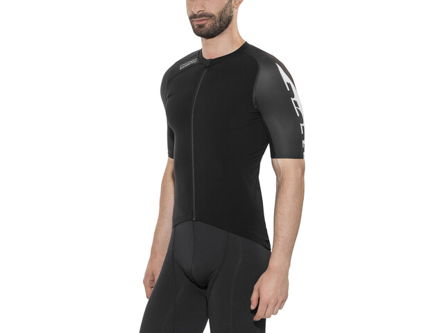 Bioracer Speedwear Concept Stratos 3.0 Kortærmet cykeltrøje Herrer, black